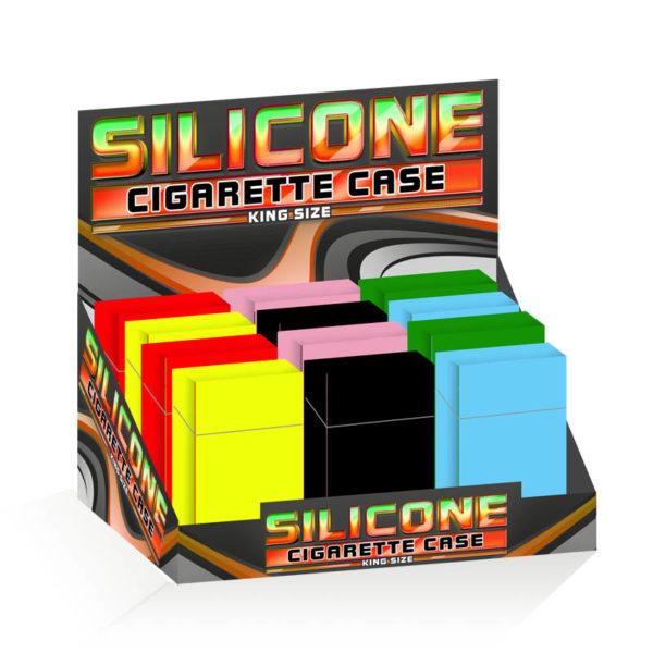 Silicone Cigarette Case 85mm Plain Design
