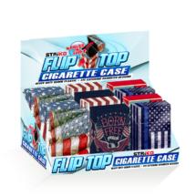 STRíKO™ Flip-Top Cigarette Case 85mm Americana Designs