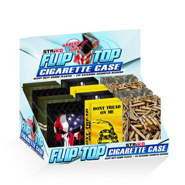 STRíKO™ Flip-Top Cigarette Case 85mm Tactical Designs